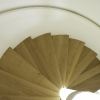 Notting Hill London. Oak spiral staircase