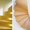 Catterick N Yorkshire. Douglas Fir staircase