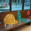 Crucible Bench 2 - glass and fixings change
