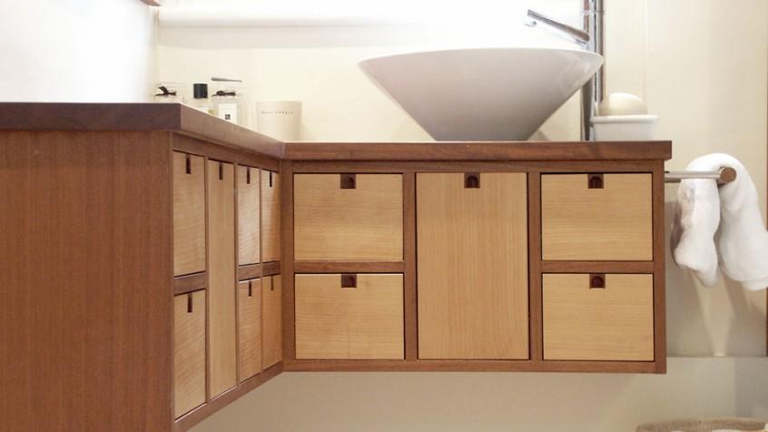 Iroko Cedar Cabinet