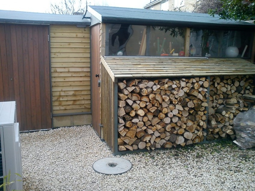 Living the cliche - one man and his (recycled) shed